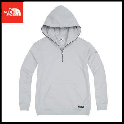 (ザノースフェイス) MENLO HOOD PULLOVER LIGHT GRAY NM5PI52L