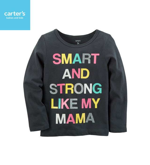carter's Smart And StrongTシャツ