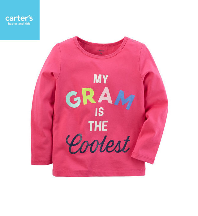 carter's My Gram Is The Coolest Tシャツ