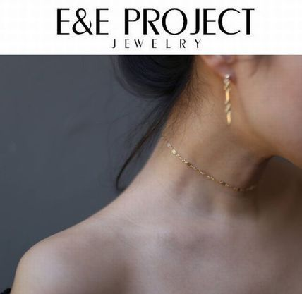 日本未発売【E and E Project】14KGF Chain Laceチョーカー