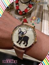 フレンチブルドック腕時計Kate spade antoine metro grand watch