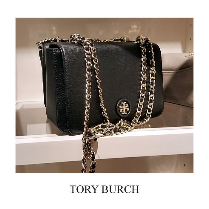 【Tory Burch】Whipstich Adjustable Chainクロスボディ 関送込