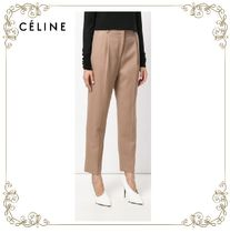 【17AW】★CELINE★front pleat tailored trousers