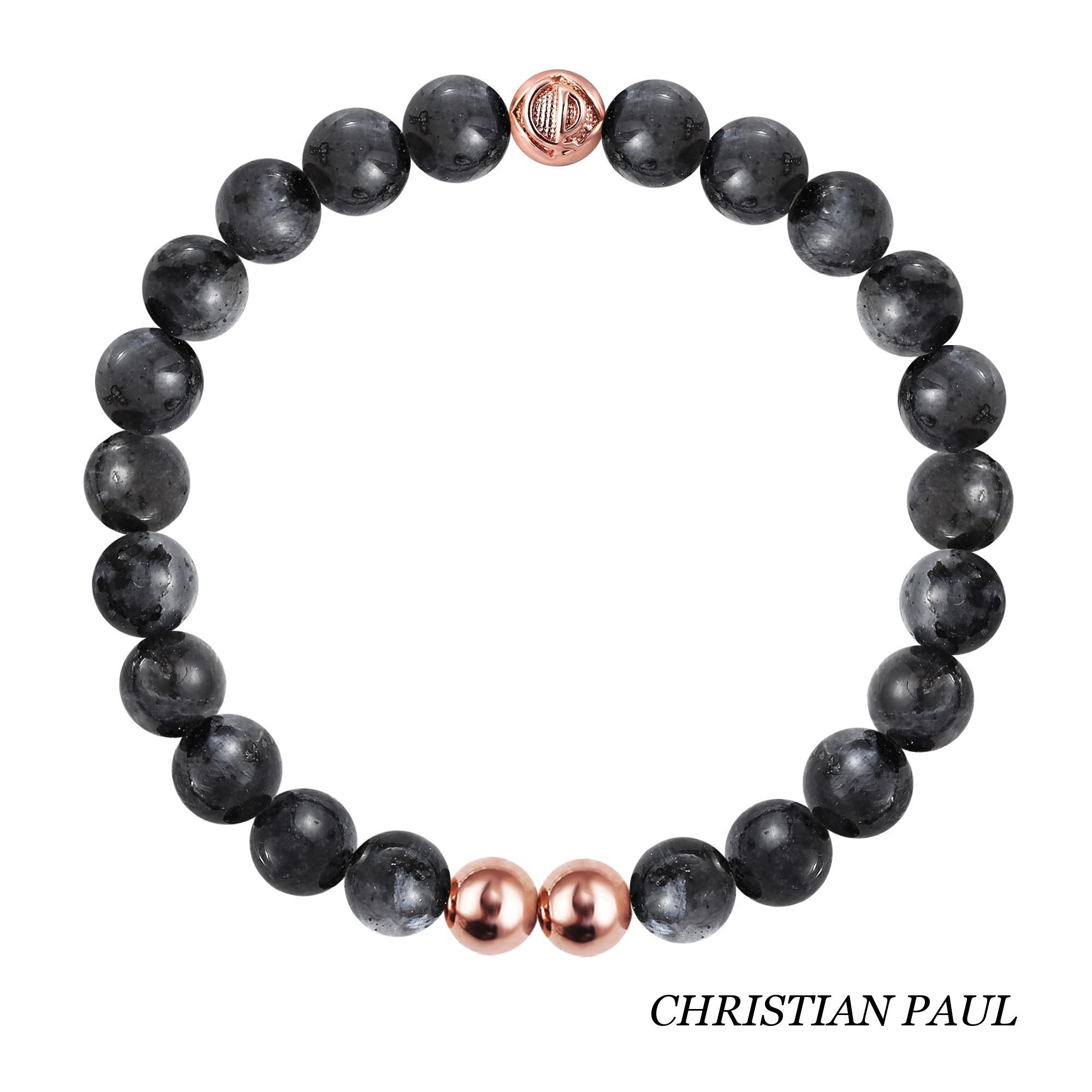 関税送料込☆Christian Paul☆Black Zebra/Rose Gold 25