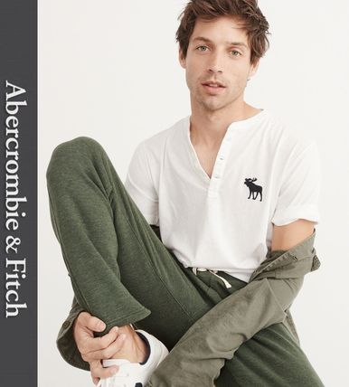 Abercrombie & Fitch Tシャツ・カットソー ★新作★送料込★A&F(アバクロ)★BIG ICON HENLEY★(2)
