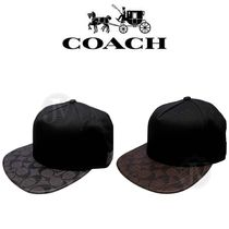 FLAT BRIM HAT IN SIGNATURE F86476