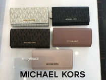 Michael Kors★8月新作★JET SET TRAVEL CARRYALL 長財布