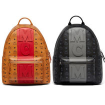 【MCM】バックパック 2色 MMK 7AVE27CO MMK 7AVE27BK
