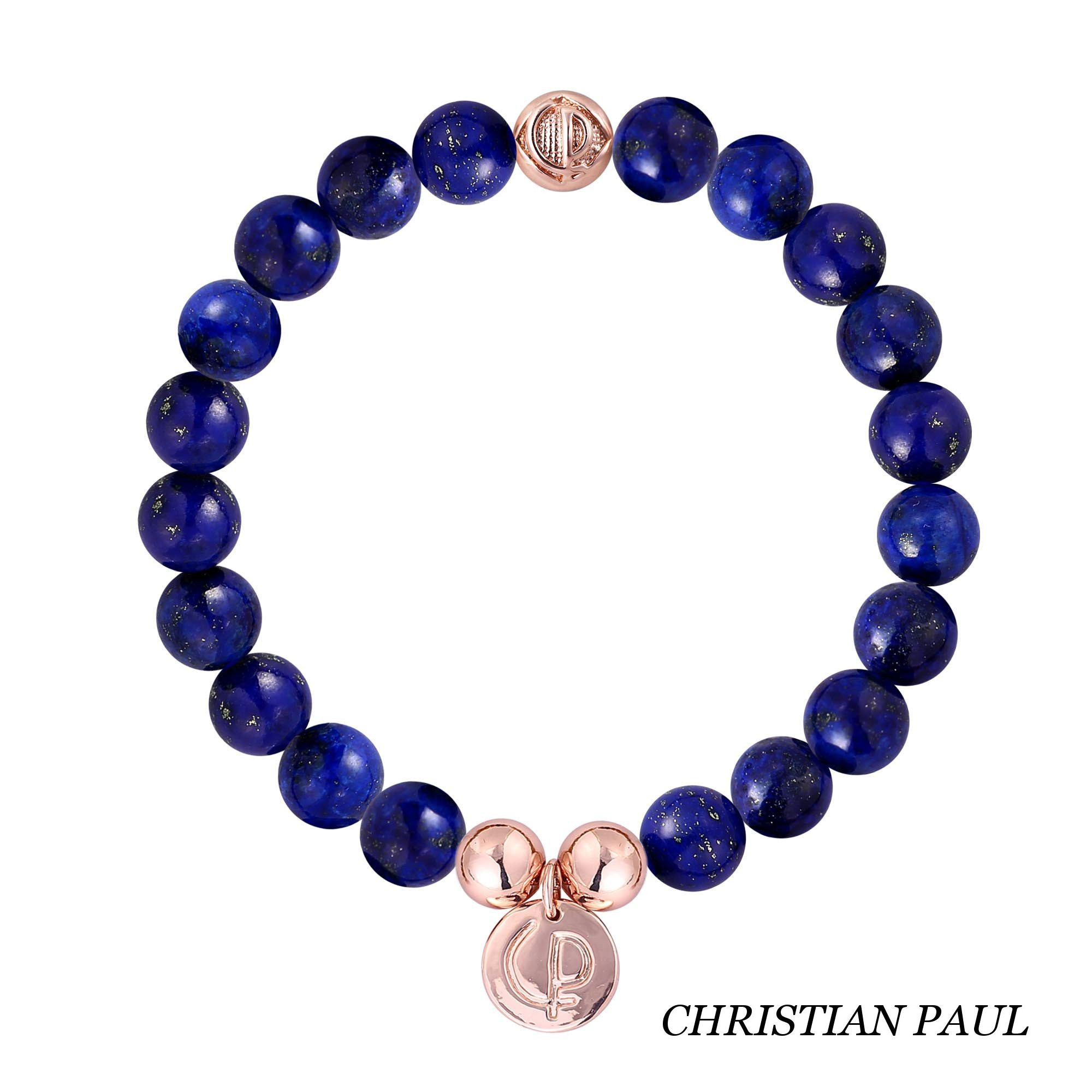 関税送料込☆Christian Paul☆Original Blue Lapis/Rose Gold 23