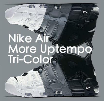 "Nike スニーカー 早い者勝ち メンズ NIKE AIR MORE UPTEMPO ""Tri-Color"""