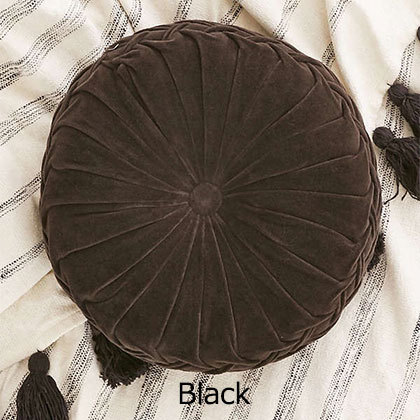 UO☆Round Pintuck Pillow