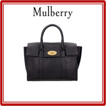 【MULBERRY】Bayswater 2WAY バッグ  -  Black (関税・送料込)