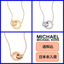 限定SALE★MICHAEL KORS Double-Ring Pendant Necklace★送料込