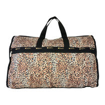 LeSportsac EXTRA LARGE WEEKENDER 7286 D962 OMBRE CHEETAH