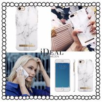 【iDEAL OF SWEDEN】☆iPhoneケース WHITE MARBLE☆