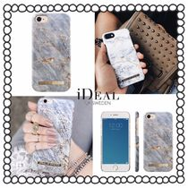 関/送料込み【iDEAL OF SWEDEN】iPhoneケース ROYAL GREY MARBLE