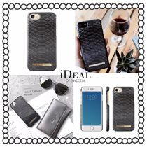 関税/送料込み【iDEAL OF SWEDEN】iPhoneケース BLACK REPTILE