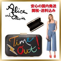 NY流行★Alice+Olivia★TIME OUT クラッチバッグ【関税送料込】
