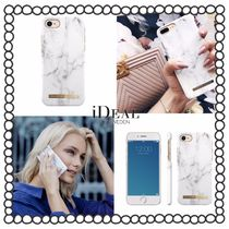税/送料込み【iDEAL OF SWEDEN】iPhoneケース WHITE MARBLE