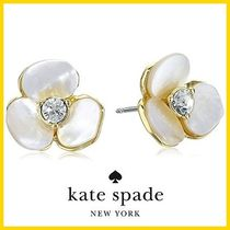 限定SALE★kate spade disco pansy stud earrings★送料込