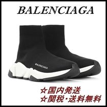 【国内発送】BALENCIAGA Speed Trainer スニーカー Black/White