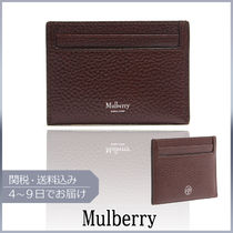 【VIPセール】Mulberry★Grained-leather holder カードホルダー