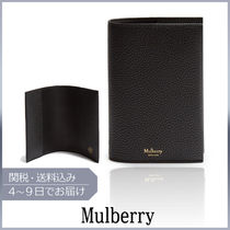 【VIPセール】Mulberry★Grained-leather パスポートホルダー