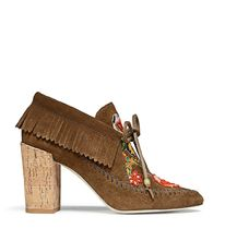 Tory Burch HUNTINGTON FRINGE BOOTIE