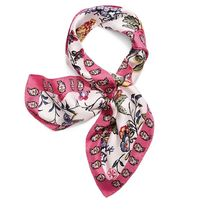 Tory Burch GABRIELLA FLORAL SILK NECKERCHIEF