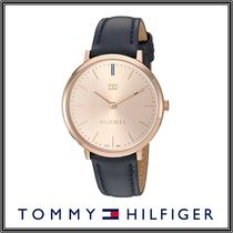 【TOMMY HILFIGER】 'Sophisticated Sport' ゴールド&レザー