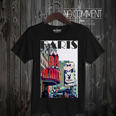 話題沸騰!!★NO COMMENT PARIS★ imprim paris 送料関税込