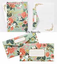 人気急上昇Rifle Paper Co. レターセット★MINT BIRCH MONARCH★