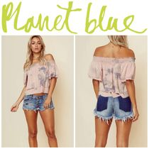 Blue Life(ブルーライフ) Tシャツ・カットソー 【Blue Life】☆17SS☆セレブ愛用☆Show Off Shoulder Top