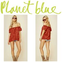 Blue Life(ブルーライフ) Tシャツ・カットソー 【Blue Life】☆17SS☆セレブ愛用☆Muse Key Hole Tie Top