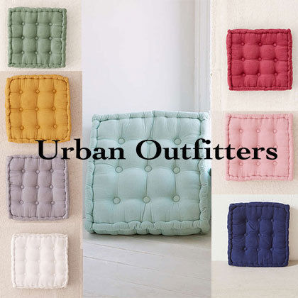 UO★Tufted Corduroy Floor Pillow
