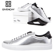 ★GIVENCHY★レザー LOW SNEAKERS SILVER_BM08219908 040