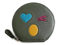 COACH HEART WINK Coin Case F11727