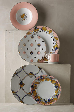 Anthropologie 食器(皿) 最終SALE☆在庫限り即納 【Anthro】Cliveden Side Plate 1枚(5)