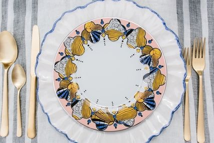 Anthropologie 食器(皿) 最終SALE☆在庫限り即納 【Anthro】Cliveden Side Plate 1枚(6)
