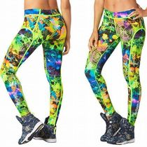 ☆ZUMBA・ズンバ☆Rock Out Piped Leggings LG