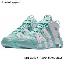 NIKE AIR MORE UPTEMPO ( Island Green ) レディースサイズ