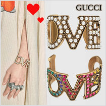 17-18AW★GUCCI★「LOVED」カフブレスレット