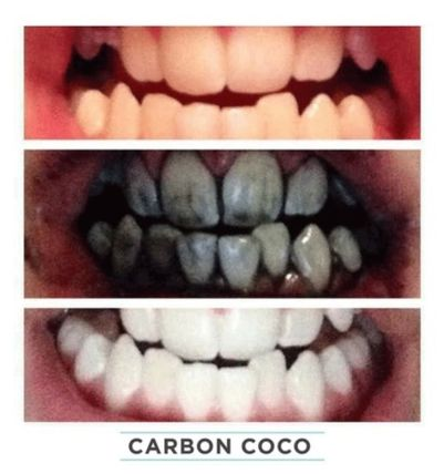 CARBON COCO ホワイトニング ホワイトニング歯磨き粉☆Activated Charcoal Tooth Polish(3)