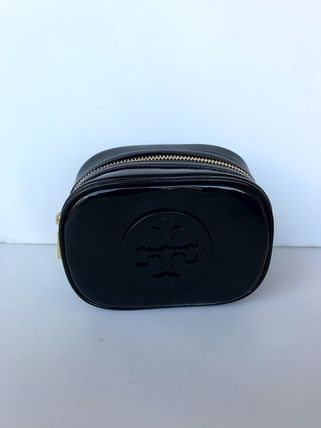 Tory Burch ポーチ SALE! TORY BURCH★STACKED PATENT SMALL COSMETIC CASE(16)