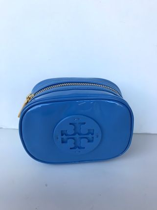 Tory Burch ポーチ SALE! TORY BURCH★STACKED PATENT SMALL COSMETIC CASE(17)