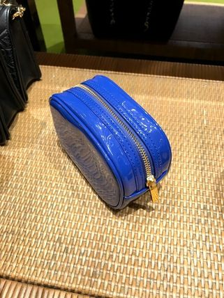 Tory Burch ポーチ SALE! TORY BURCH★STACKED PATENT SMALL COSMETIC CASE(15)