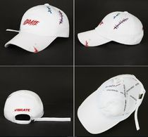 VIBRATEのVIBRATE - SCRATCH EMBROIDERY DAMAGED BALL CAP