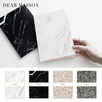 DEAR MAISON(ディアメゾン) ノート 大理石パターン 無地ノート/STONE NOTEBOOK (全4種)