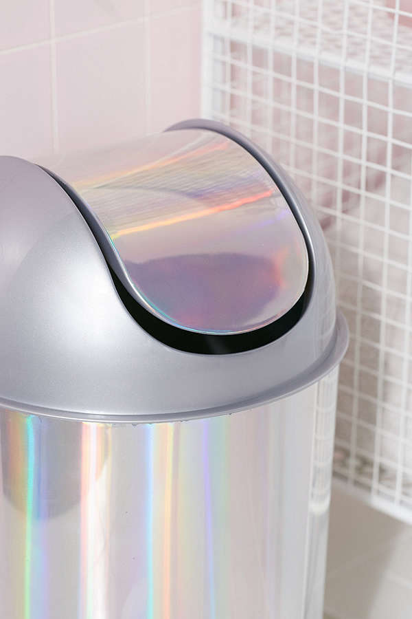 Urban Outfitters☆Mezzo Mini Holographic Trash Can