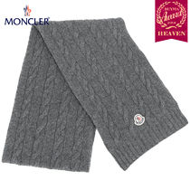 TOPセラー賞受賞!17/18秋冬┃MONCLER★KNITTED SCARF_グレー